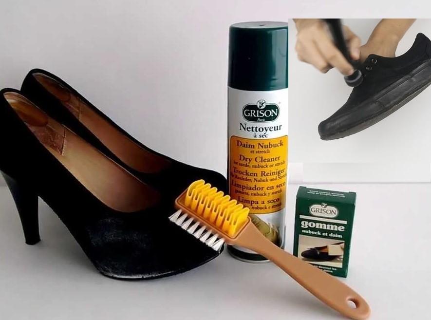 5d92e23980df3 Como limpiar zapatos de gamuza negra o zapatillas