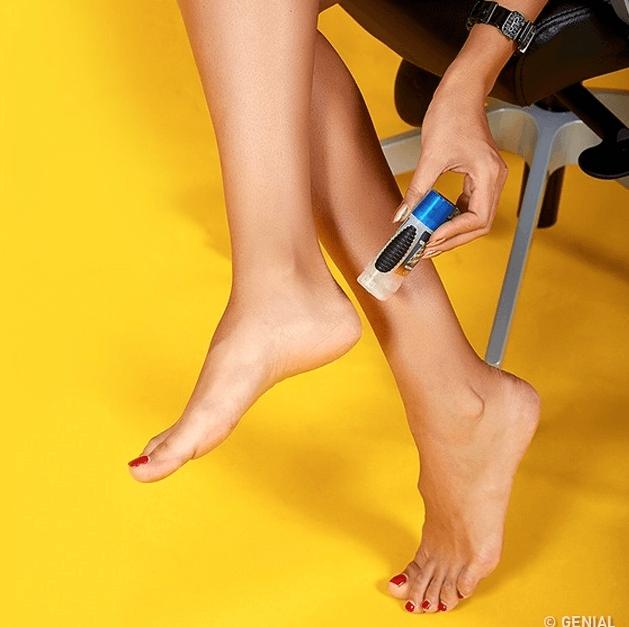 crema para usar tacones sin medias