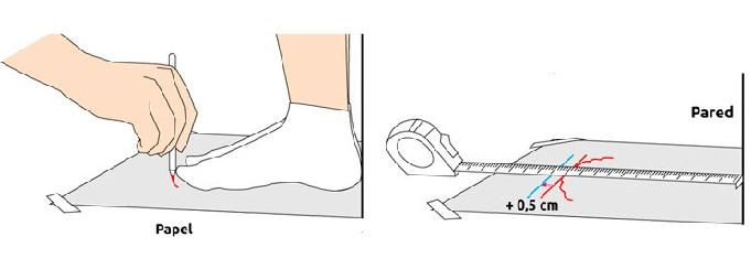 Como encontrar tu talla de calzado