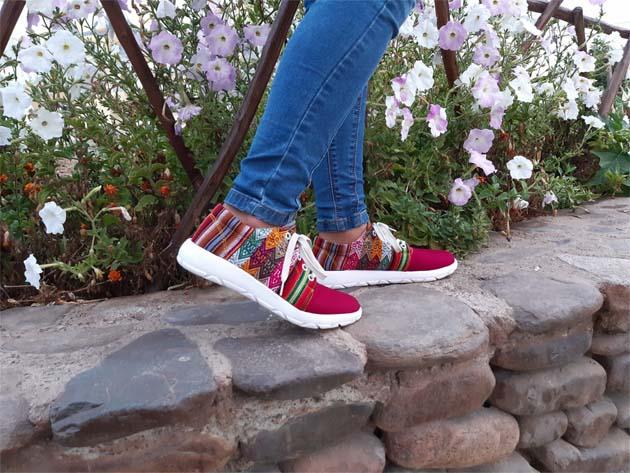 zapatillas peruanas, hechas en perú