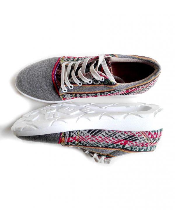 zapatillas de mujer plomas inkabords