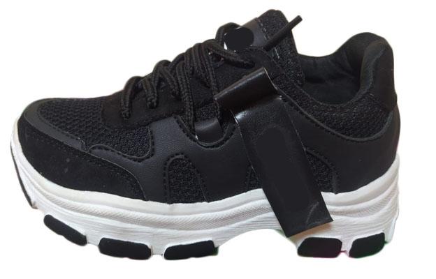 zapatilla negra de marca por mayor